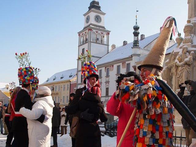 Třeboňský masopust ovládnou muzikanti, koledníci a maškary, foto Turistické informační centrum města Třeboně