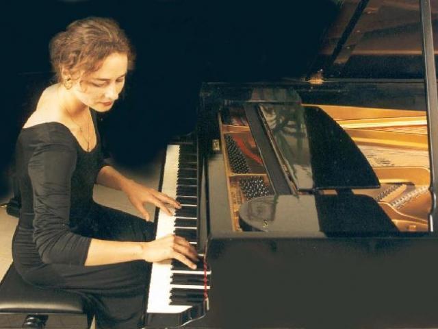 Koncert pianistky Heidemarie Wiesner v Praze, foto Heidemarie Wiesner