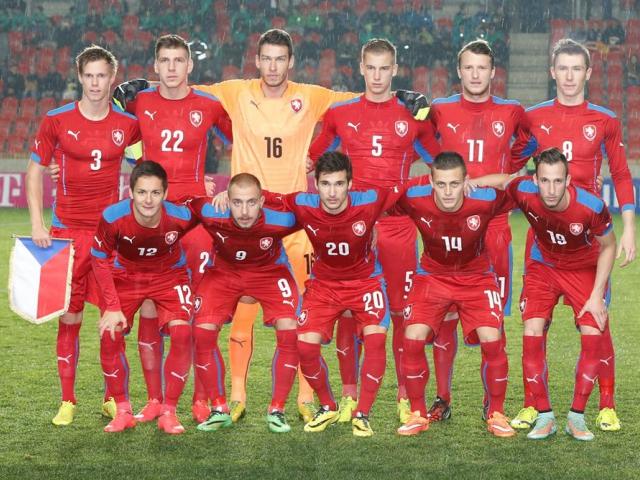 Češi zahájí evropský fotbalový šampionát v Edenu. Foto Organizační výbor ME ve fotbale do 21 let