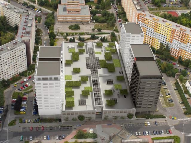 Polyfunkční domy CENTRUM LUŽINY, foto YIT Stavo, s.r.o.