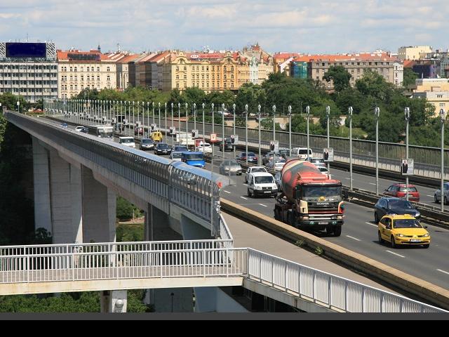 Rekonstrukce Nuselského mostu pokračuje i v letošním roce, foto TSK