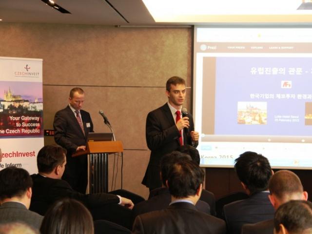 Pokračující zájem Korejců o investování u nás potvrdil seminář CzechInvestu a AFI v Soulu, foto CzechInvest
