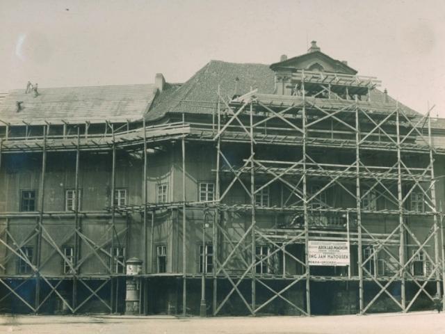 Výstava o historii přestavby barokního Klementina přiblíží jednotlivé etapy a řešení stavebních úprav, foto NK ČR