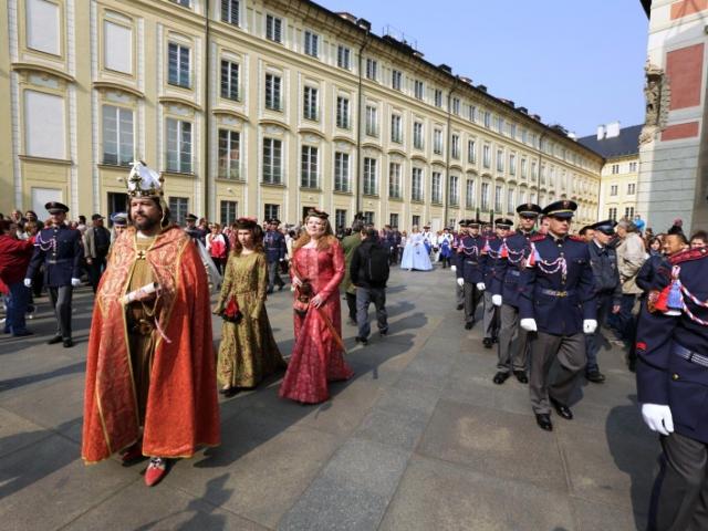 Zahájení letní turistické sezóny Pražského hradu. Foto Správa Pražského hradu