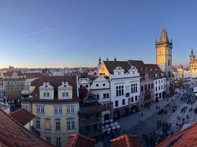 Praha v pohybu: Staroměstské náměstí se na den promění v obří sportovní areál. Foto Prague City Tourism