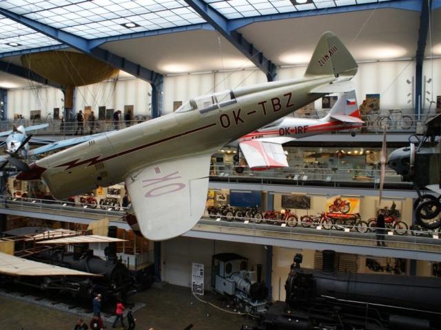 Senzační dárek čeká na miliontého návštěvníka Národního technického muzea. Foto Praha Press