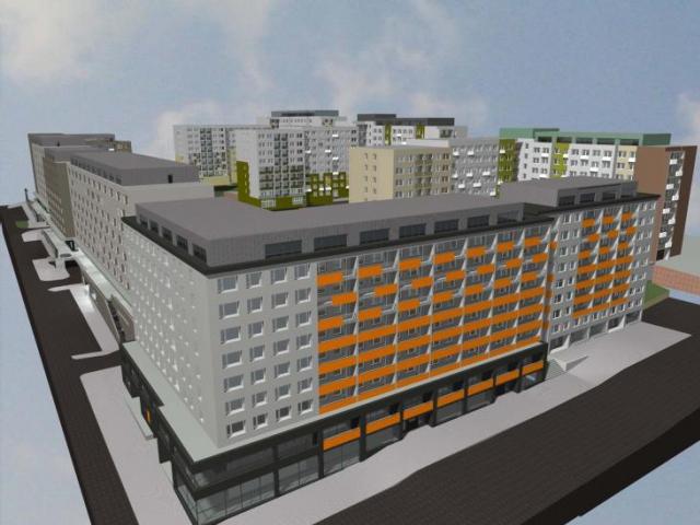 Architekti tří ateliérů prezentovali projekt revitalizace žižkovských panelových domů, foto ÚMČ Praha 3