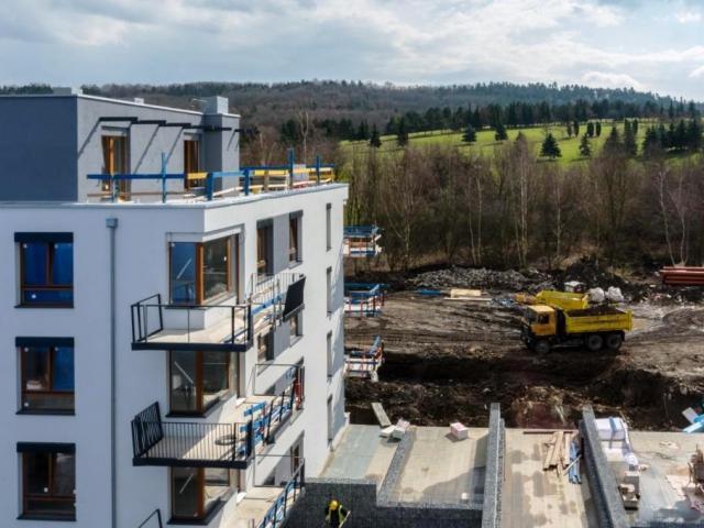 Nízkoenergetický projekt Green Motol se 137 byty, který společnost YIT začala stavět na počátku roku 2014, běží podle harmonogramu. Foto YIT