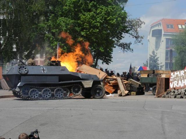 Barikáda 2015: Praha 3 si připomene 70 let od konce 2. světové války, foto ÚMČ Praha 3