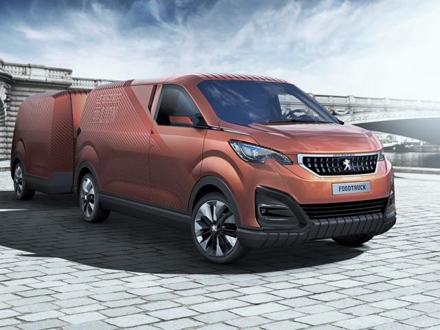 Značka Peugeot se rozhodla otevřít bistro a zrodil se Foodtruck Peugeot, foto Peugeot
