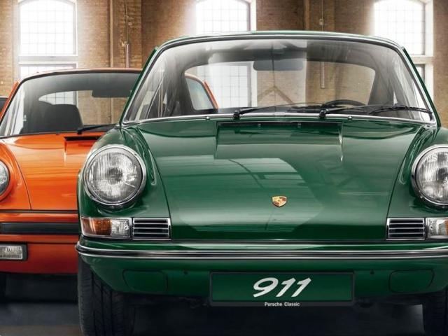 Spanilá jízda legendárních vozů Porsche 911 v Praze, foto Porsche Inter Auto CZ