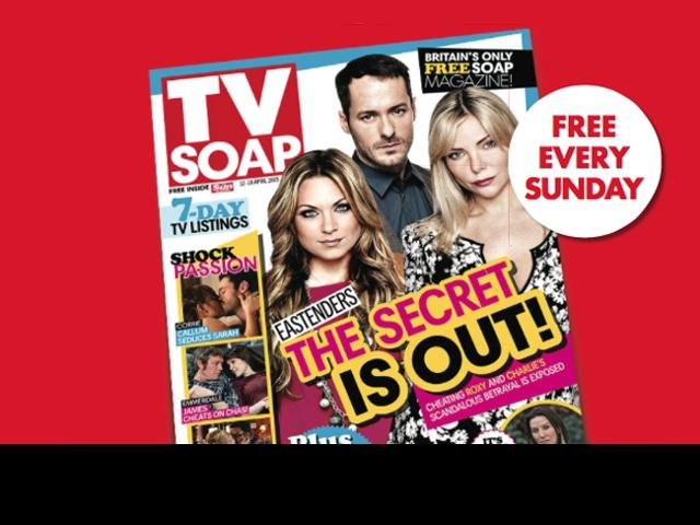Nedělník Sun on Sunday uvedl nový suplement TV Soap, foto Newsworks