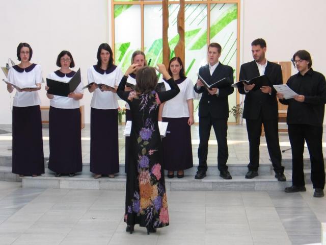 Čakovický festival sborového zpěvu má emotivní atmosféru. Foto Sdružení pěveckého sboru CAMERATA