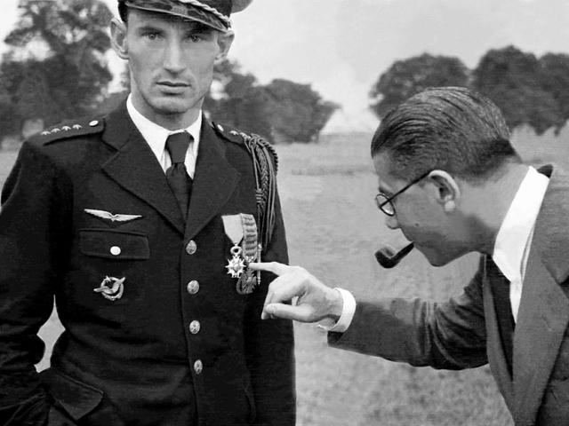 Nejúspěšnější československý stíhač bitvy o Francii, Alois Vašátko, po příjezdu do Velké Británie, foto VHÚ