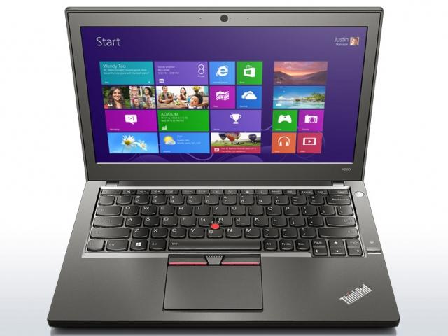 Nejnovější hardware a celodenní výdrž na baterii nabízí Ultrabook ThinkPad X250, foto LENOVO