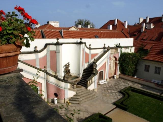 Zahrady pod Pražským hradem jsou otevřeny veřejnosti, foto Zahrady pod Pražským hradem