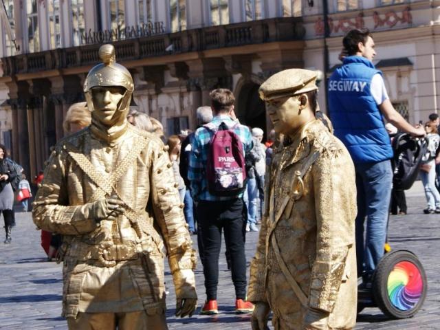 Praha chce novelizovat vyhlášku upravující provozování uměleckých produkcí v ulicích města, foto Praha Press