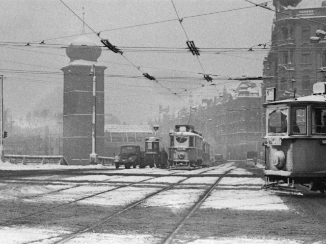 Foto Boris Baromykin, Zima u Mánesa