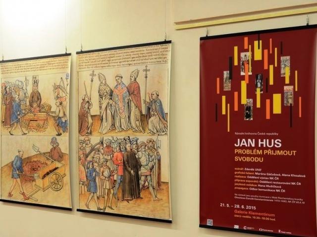 Národní knihovna představí vzácné rukopisy a netradiční pohled na mistra Jana Husa. Foto NK ČR