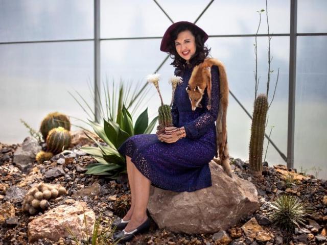 Výstava Pichlavá historie nabídne největší kaktus Saguaro ve střední Evropě i módu 1. republiky. Foto Botanická zahrada