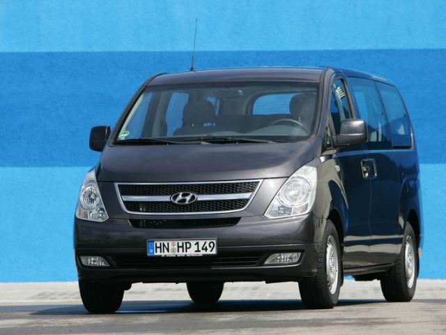 Hyundai Motor přináší modernizovanou řadu víceúčelových vozidel H-1, foto Hyundai Motor