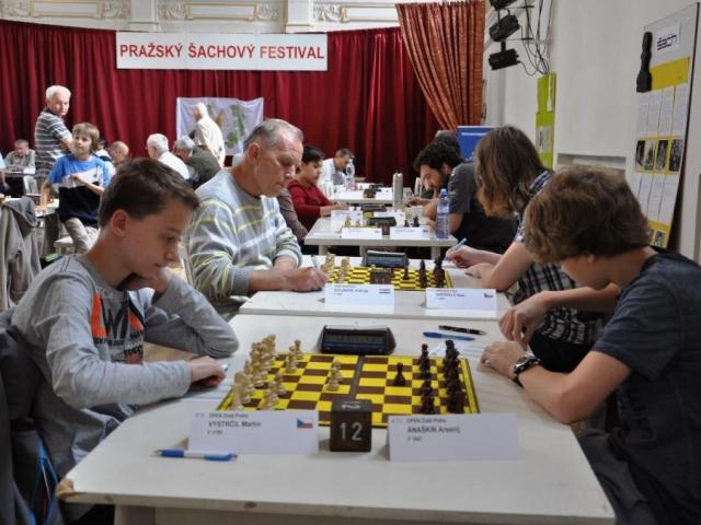 V rámci 11. Pražského šachového festivalu budou sehrány 4 turnaje, foto Šachový klub Holdia DP Praha