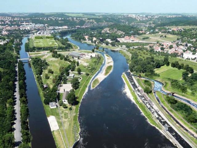 Císařský ostrov by se měl proměnit v horizontu 3 let. Foto IPR Praha