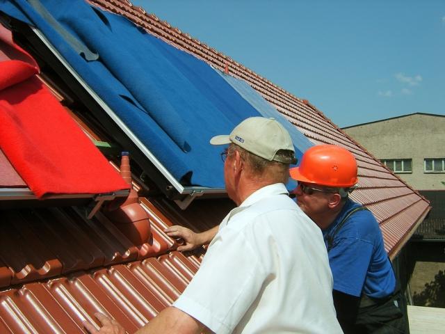 Ze zdrojů jsou nejžádanější solární termické systémy a tepelná čerpadla. Foto SVOBODA a spol.