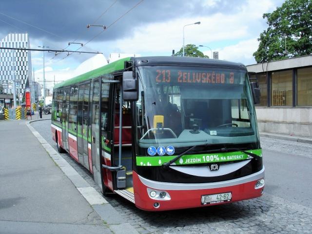 Dopravní podnik připravuje dlouhodobé testování elektrobusu, foto DPP