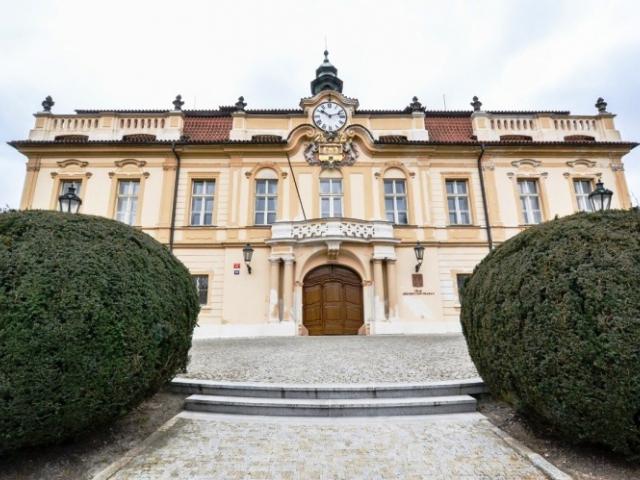 Chystá se oprava průčelí Libeňského zámku, foto ÚMČ Praha 8