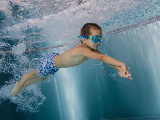 Plavecký areál Jedenáctka VS nabízí vyžití pro celou rodinu a nejen pro Pražáky, foto Aqua Sport Club