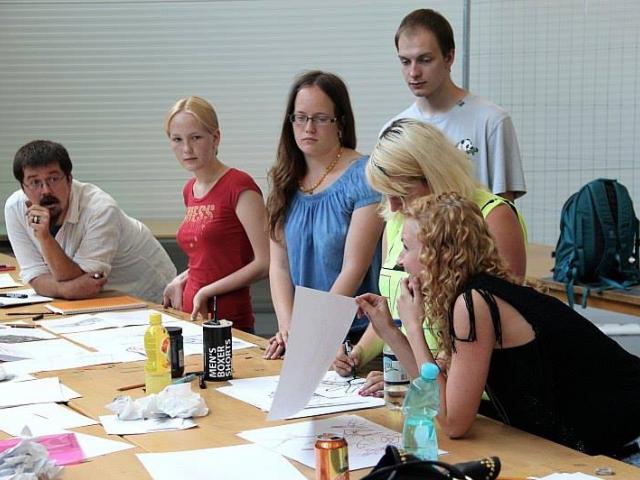 Letní škola umění ArtCamp nabízí výtvarné kurzy i program pro veřejnost, foto ArtCamp