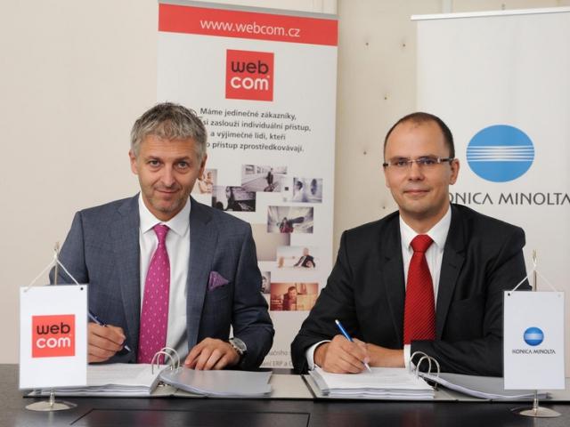 Akvizice WEBCOM přinese Konica Minolta nové služby a růst, foto Konica Minolta