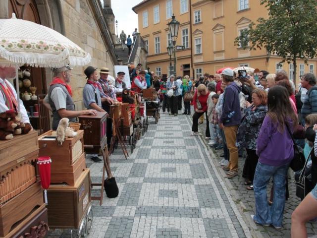 Mezinárodní festival flašinetářů Flašinet žije! pořádá Národní muzeum. Foto Národní muzeum