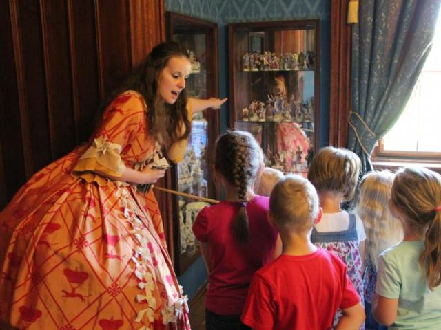 Prohlídky s princeznou na zámku Sychrov, foto NPÚ