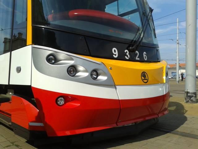 DPP dnes slavnostně představil nové tramvaje Škoda ForCity Alfa, foto DPP
