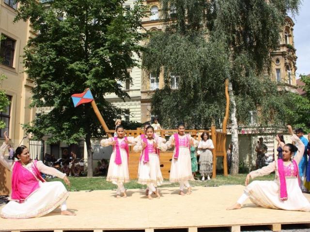 Nádvoří Náprstkova muzea. Festival indické kultury, foto Národní muzeum