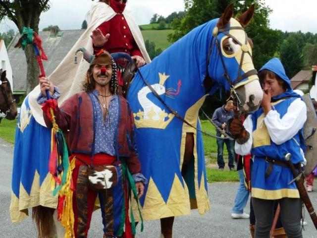 Historické slavnosti v Kašperských Horách, foto Městské kulturní a informační středisko Kašperské Hory