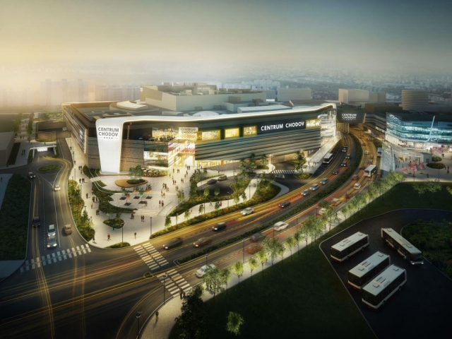 Centrum Chodov se rozroste o více než třetinu, foto Unibail-Rodamco