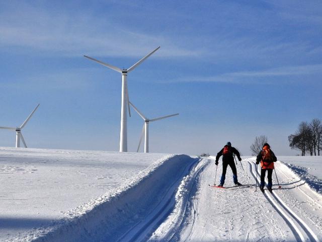 Ski areál Ostružná nabízí kurzy lyžování v nejčistším prostředí Jeseníků