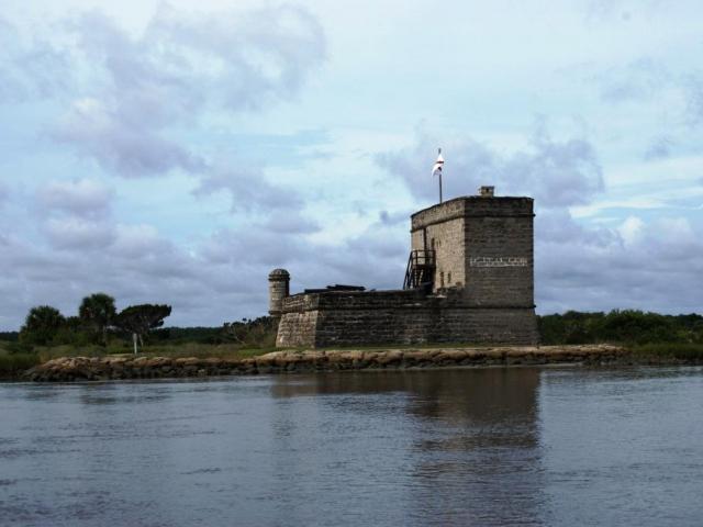 Válečná pevnost, Fort Matanzas Národní Monument, foto Praha Press