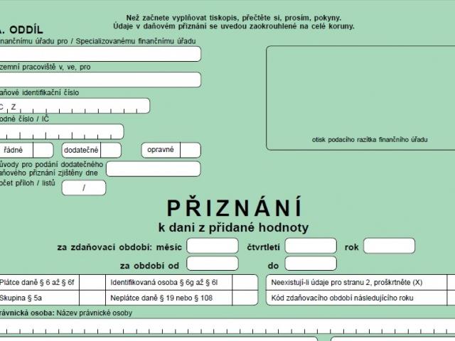 Na zavedení kontrolního hlášení je připravena pouze pětina firem v ČR, foto Finanční správa