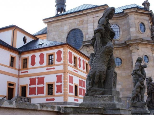 Hospitál Kuks je nejnavštěvovanější památkou na Královéhradecku. Foto Praha Press