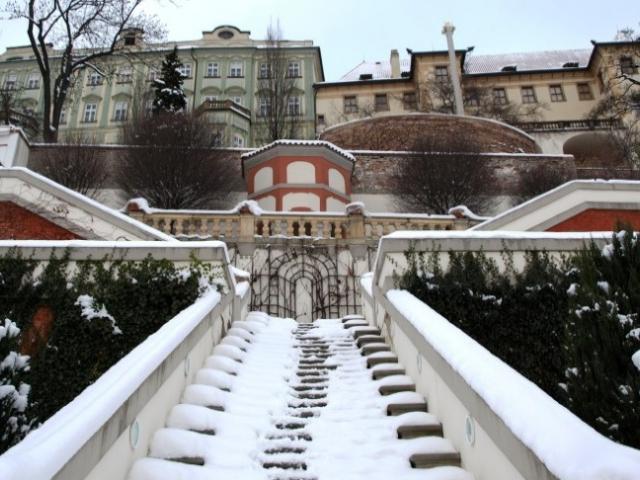 Mikuláš na Zahradách pod Pražským hradem pro děti i dospělé, foto NPÚ