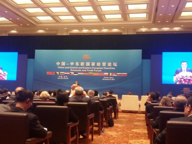Čínský premiér: Ve střední a východní Evropě hodláme investovat 10 miliard eur, foto Hospodářská komora ČR