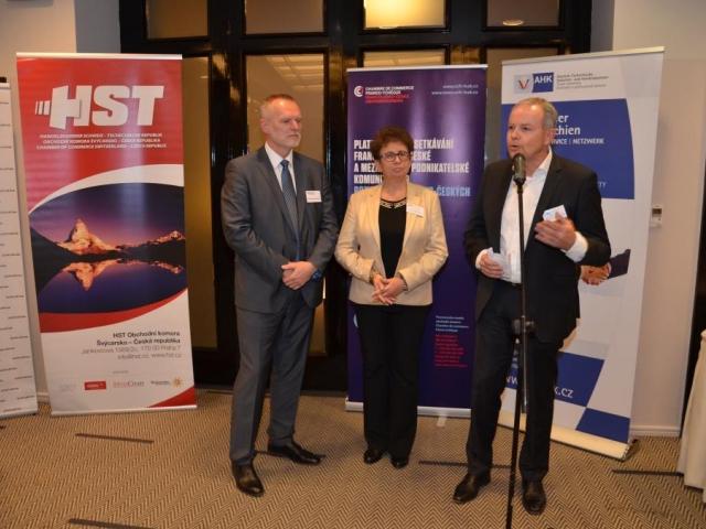 70 firem na Speed Business Meetingu, foto Česko-německá obchodní a průmyslová komora