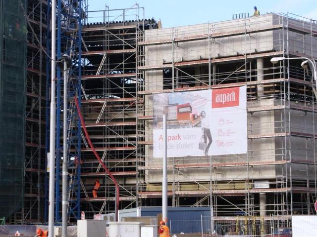 Po celé Evropě narůstá nová výstavba maloobchodních ploch, Aupark, foto Praha Press