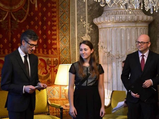 V Praze byla předána francouzská cena Zlaté pero, foto Ministerstvo školství, mládeže a tělovýchovy