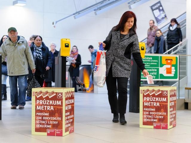 Pražské metro v den přepravního průzkumu přepravilo 1 272 143 cestujících, foto DPP