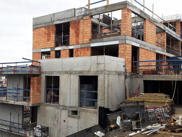 Bydlení pro náročné roste na Bohdalci, foto PSJ a.s.
